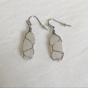 Jewelry - Quartz Dangle Earrings